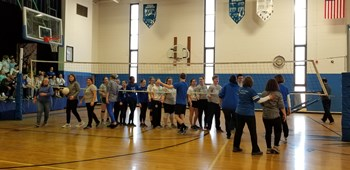 CSW 2019 - Volleyball Match - Faculty vs SOAR