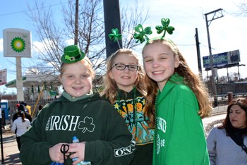 St. Patrick's Parade Day